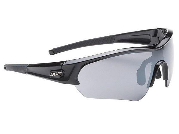 BBB Select Glossy Black Solbriller, 3 Linser