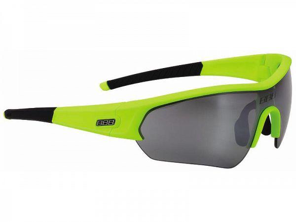 BBB Select neon/sort Solbrille, 3 Linser