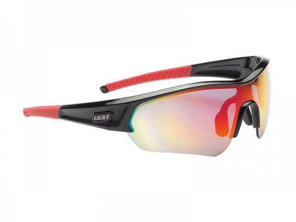 BBB Select sort/rød Solbrille, 3 Linser