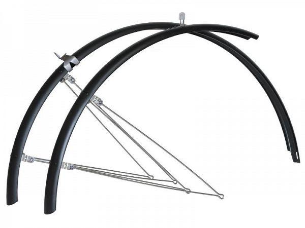 "Bike Partner matsort 26"" Skærmsæt, 60mm"
