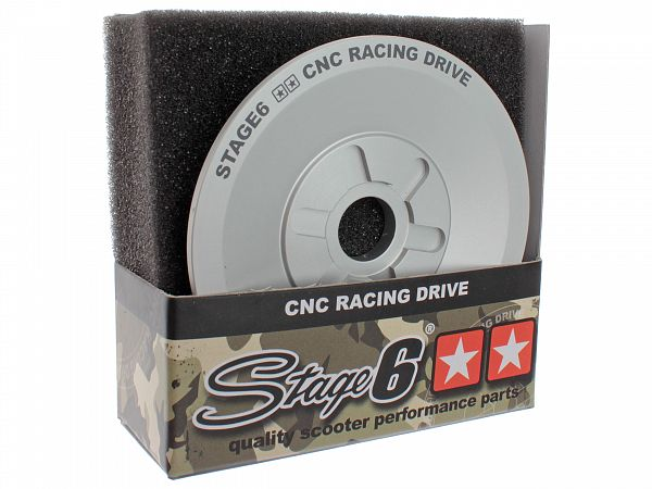Blæserhjul til variator - Stage6 CNC RACING Drive Face (16mm)