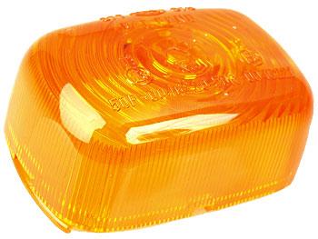 Blinkglas, bag - orange - originalt