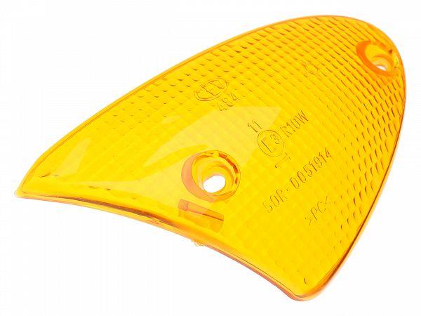 Blinklygteglas, for højre - orange - originalt
