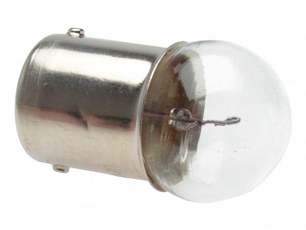 Blinklygtepære - BA15S 12V, 10W - RMS