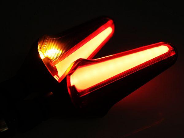Blinklygter - Spirit Beast L21 Dynamic LED DRL, hvid
