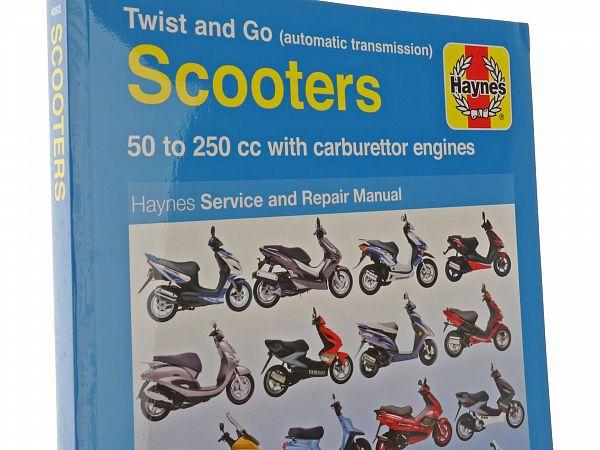 Bog - Haynes håndbog - Scootere med karburator