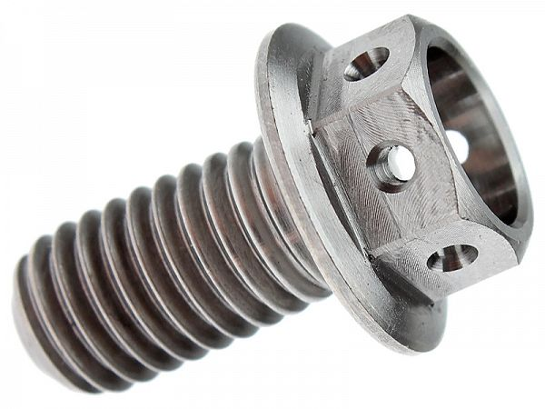 Bottom screw for gearbox - Pro-Bolt titanium