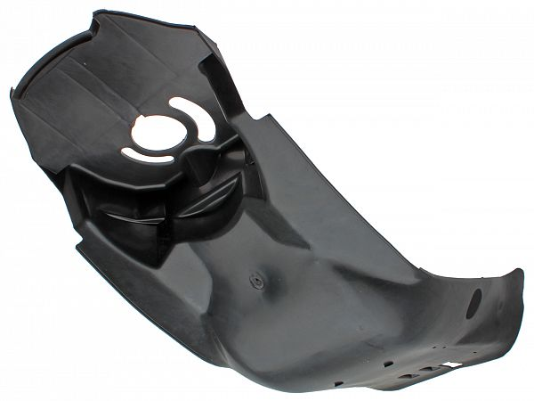 Bottom shield, black