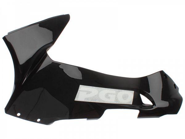 Bottom shield, left - black - original