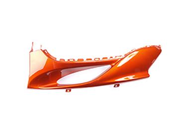 Bottom shield, left - orange