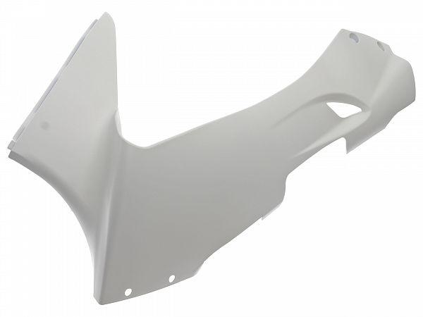 Bottom shield, left - white - original