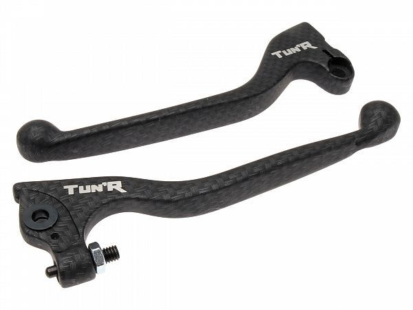 Brake and clutch lever, TunR - carbon