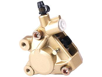 Brake caliper, front - gold