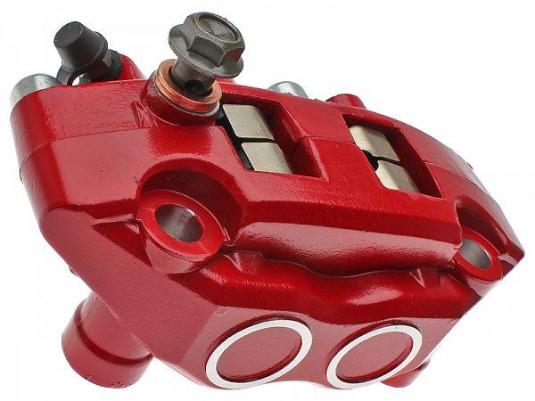 Brake caliper, front - red - original