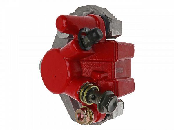 Brake caliper, front - red / silver