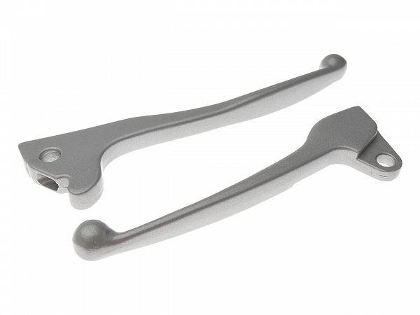Brake grip set, silver - Zoot