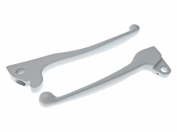 Brake grip set, white - Zoot