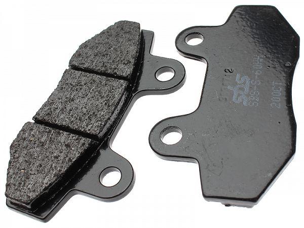 Brake pads - SBS Carbontech