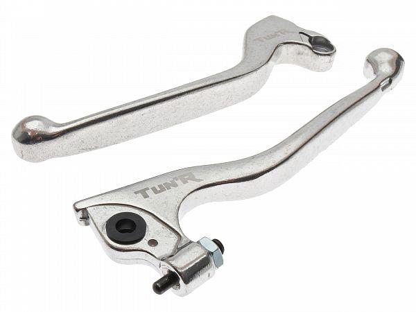 Bremse- og koblingsgreb, TunR - sølv