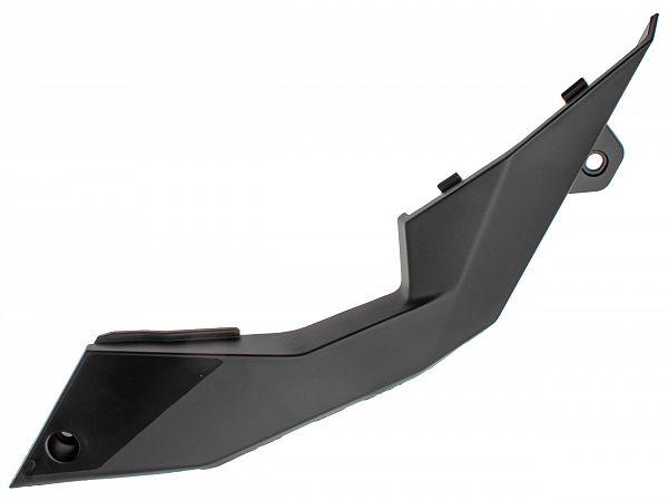 Buet skjold under sæde, venstre - sort - originalt