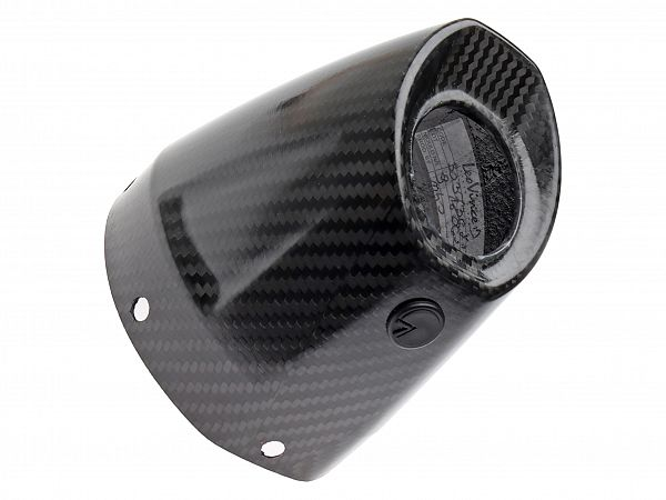 Carbon end for X3 muffler - LeoVince