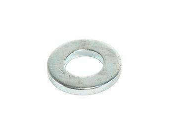 Clamping disc at intermediate starter wheel