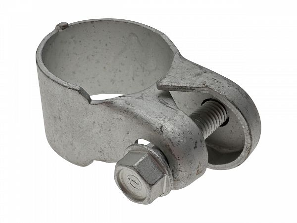 Clamps for use between front pipe and exhaust - original