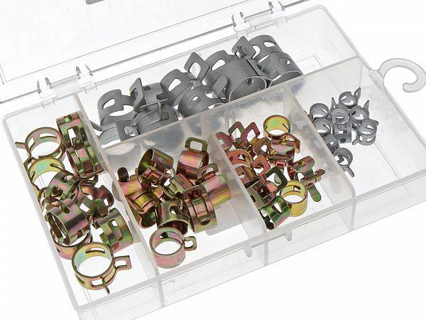 Clip range for hoses - Zoot, 50pcs