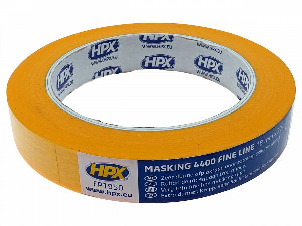 Cover tape - 19 mm X 50 m, chemistry resistant - HPX