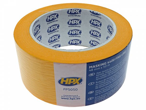 Cover tape - 50 mm X 50 m, chemistry resistant - HPX