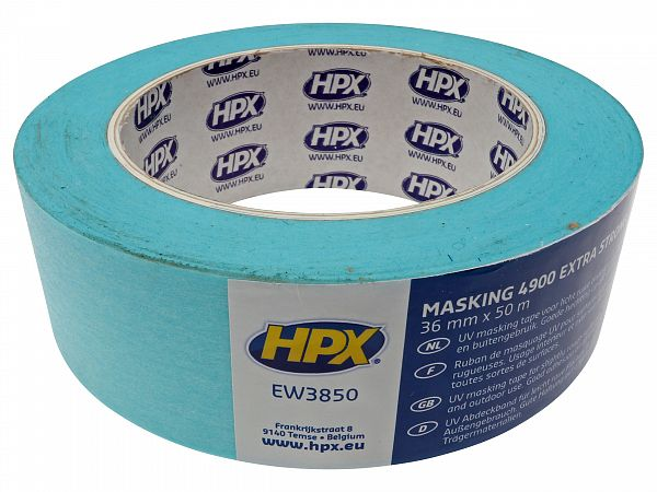 Covering tape - 38 mm X 50 m, heat resistant - HPX