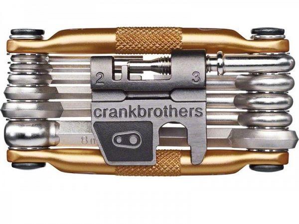Crankbrothers M17 Gold Foldeværktøj, 17 Funktioner