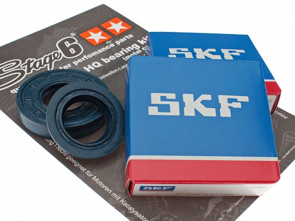 Crankshaft bearings - Stage6 SKF with steel guide