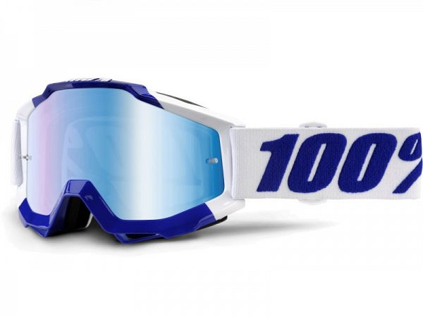 Cross brille - 100% Accuri Calgary, Mirror Blue Lens