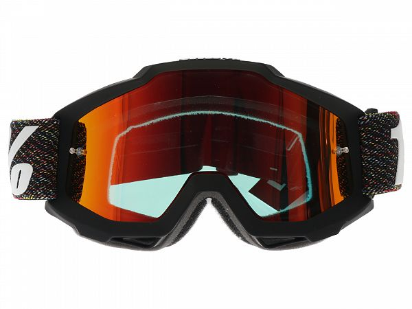 Cross brille - 100% Accuri Krick, Mirror Red Lens