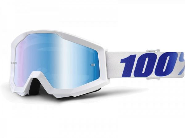 Cross brille - 100% Strata Equinox, Mirror Blue Lens