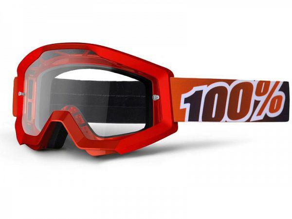 Cross brille - 100% Strata Red