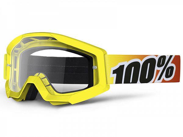Cross brille - 100% Strata Sunny Days MX Goggle