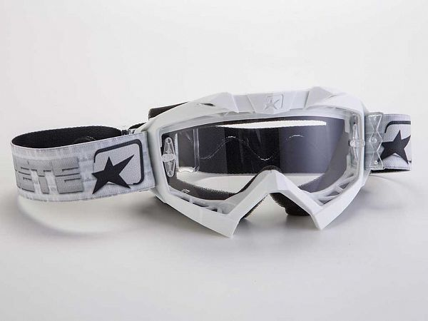 Cross brille - Ariete MX Adrenaline, Hvid