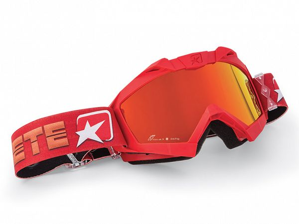 Cross brille - Ariete MX Adrenaline, Red/Orange