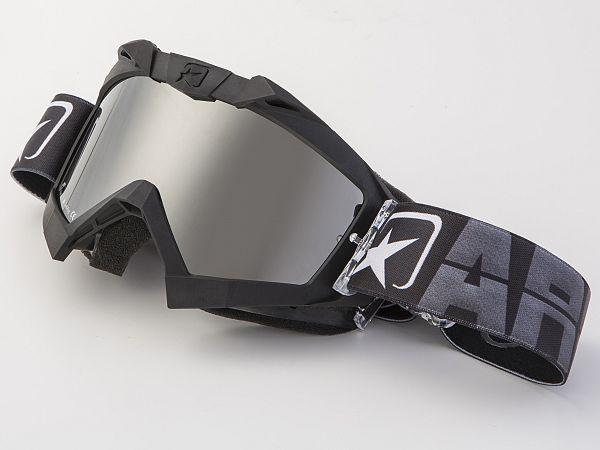 Cross brille - Ariete MX Adrenaline sort med idirium sort glas