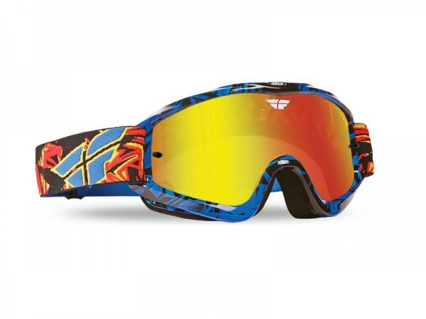 Cross brille - Fly Zone Pro Blå/Sort