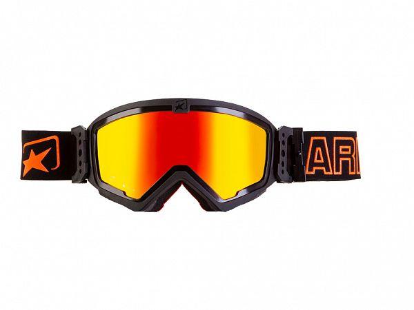 Cross glasses - Ariete Mudmax, Red / Orange