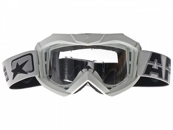 Cross glasses - Ariete MX Goggles 07 AAA, White
