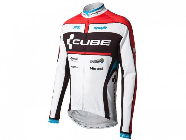 Cube 11001 Teamline Langærmet Cykeltrøje