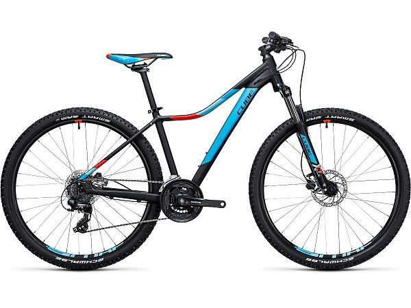 "Cube Access WLS Disc 27,5"" sort - Dame MTB - 2017"
