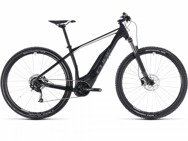 Cube Acid Hybrid ONE 400 sort - MTB Elcykel - 2018