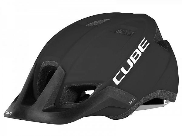 Cube CMPT Cykelhjelm Black and White