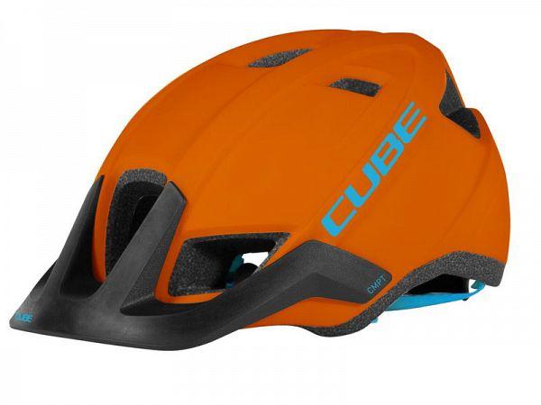 Cube CMPT Cykelhjelm Orange and Blue Large (58-62 cm)