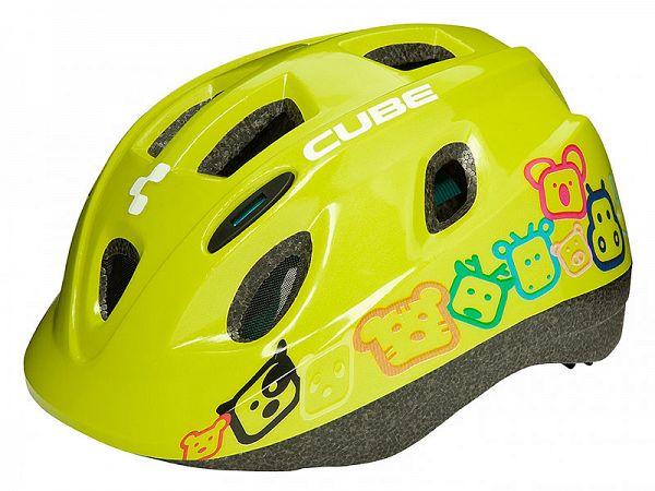 Cube Kid Børne Cykelhjelm Comic Green (48-52 cm)